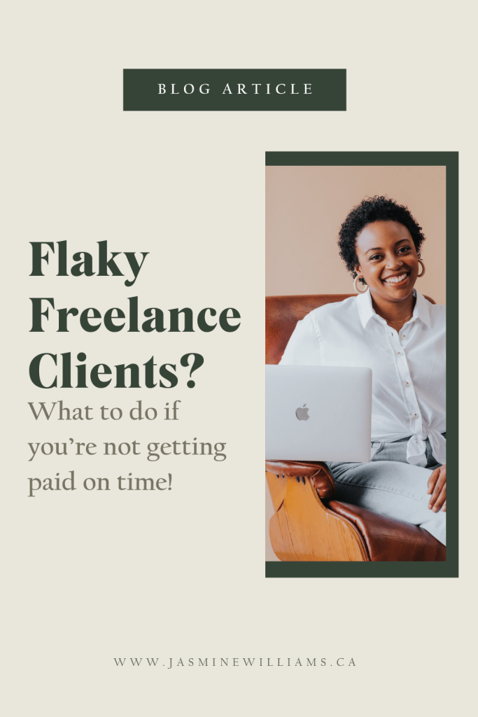 Flaky freelance clients? What to do if you're not getting paid on time